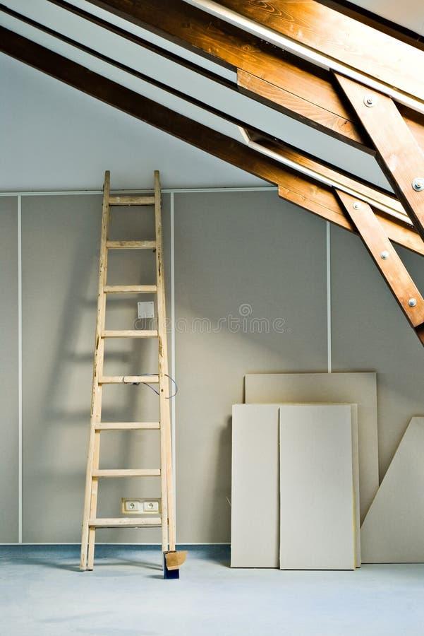 Escada de etapa imagens de stock