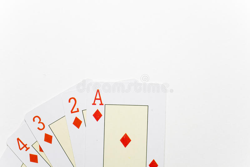 Escada do diamante pequena imagem de stock royalty free