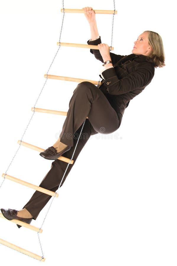 Escada do sucesso fotografia de stock