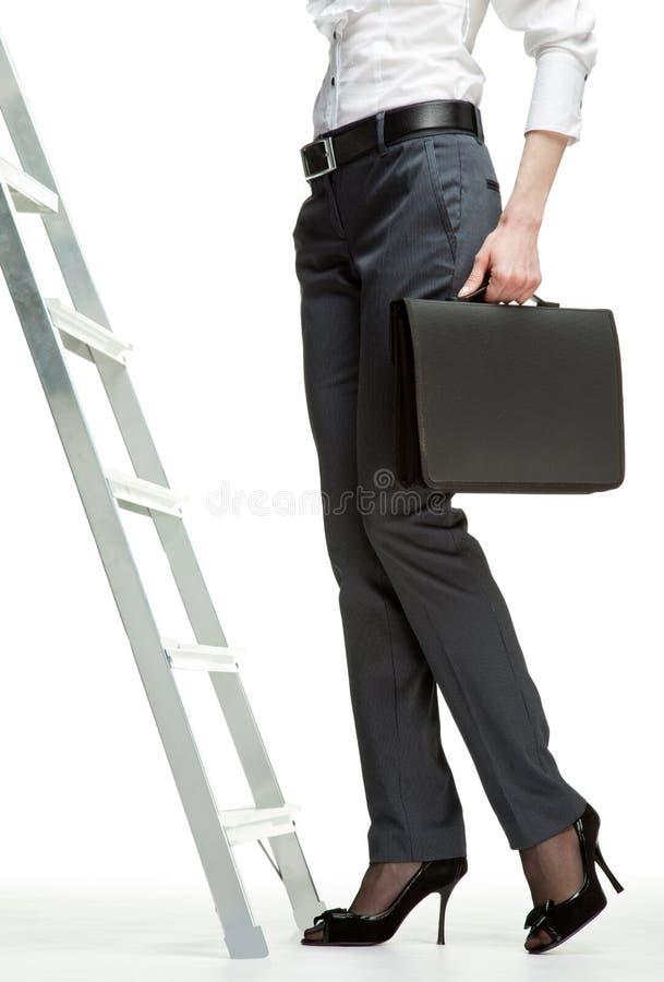 Escada do sucesso foto de stock