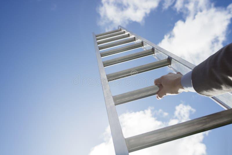 Escada do sucesso fotografia de stock royalty free