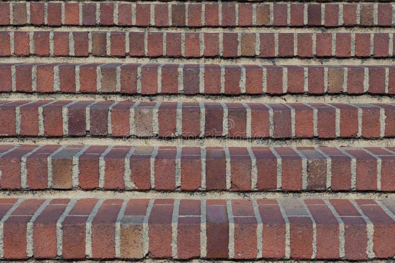 Escada do tijolo fotografia de stock royalty free