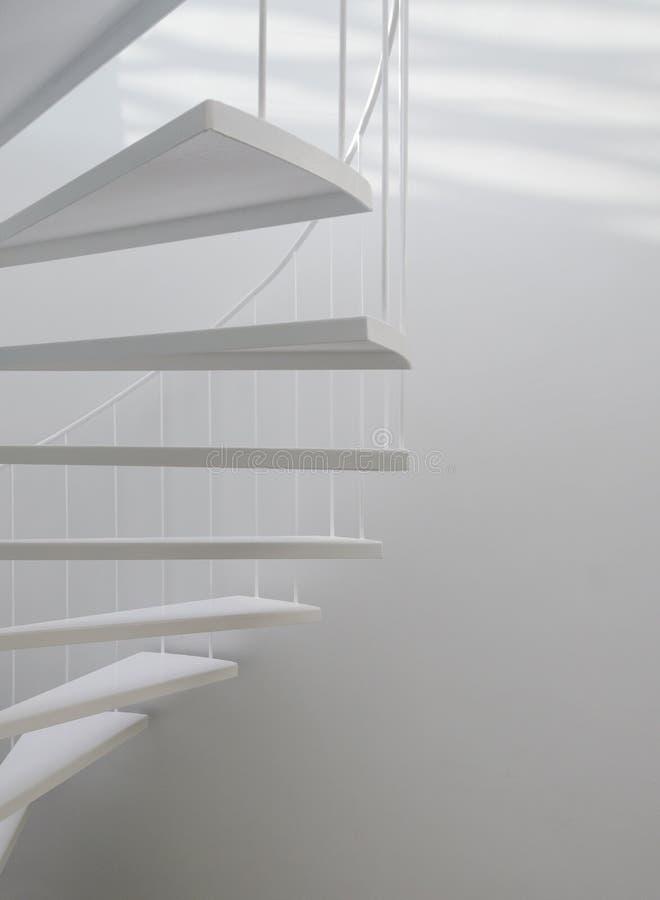 Escada espiral foto de stock royalty free