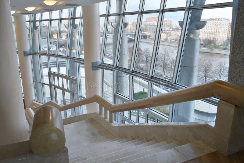 Escada interior foto de stock royalty free