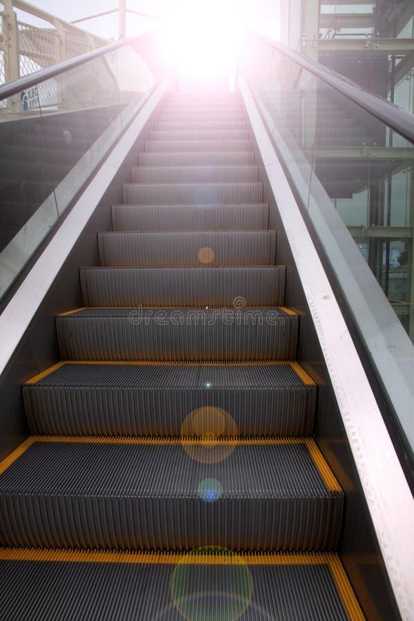 Escada rolante foto de stock royalty free