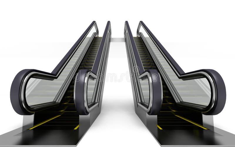 Escada rolante ilustração do vetor