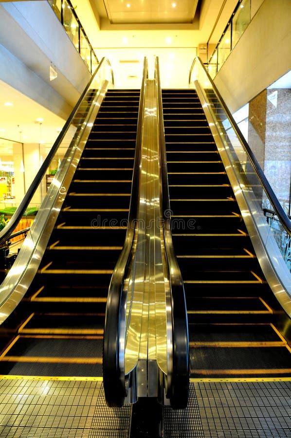 A escada rolante fotografia de stock royalty free