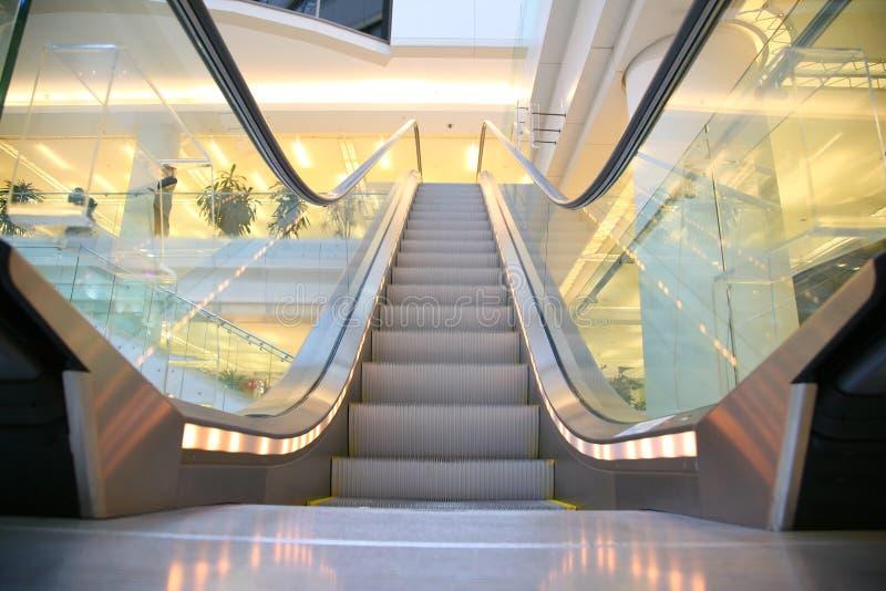 Escada rolante da loja fotos de stock royalty free