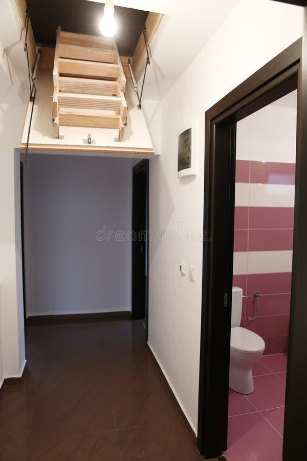 Escada suspendida foto de stock