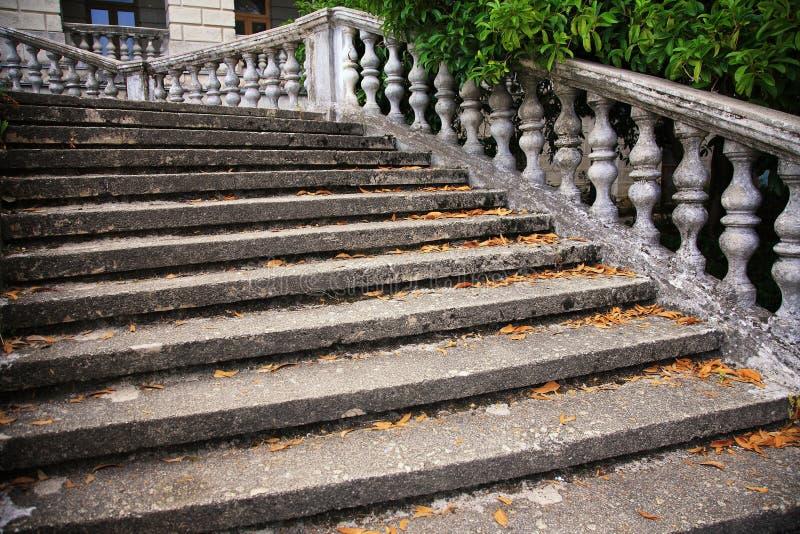 Escada velha foto de stock royalty free