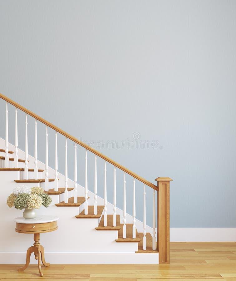 Escadaria. ilustração royalty free