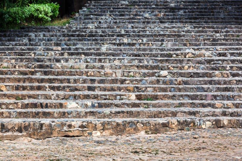 Escadaria velha fotografia de stock royalty free