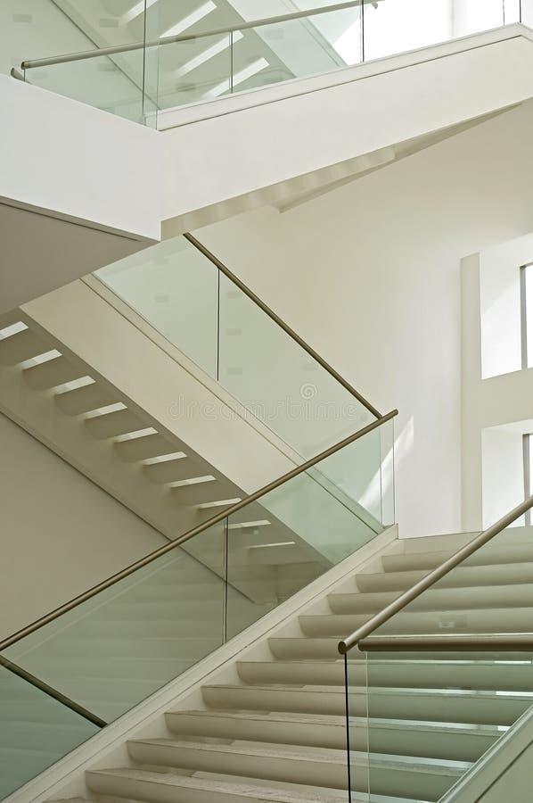 Escadaria branca fotos de stock