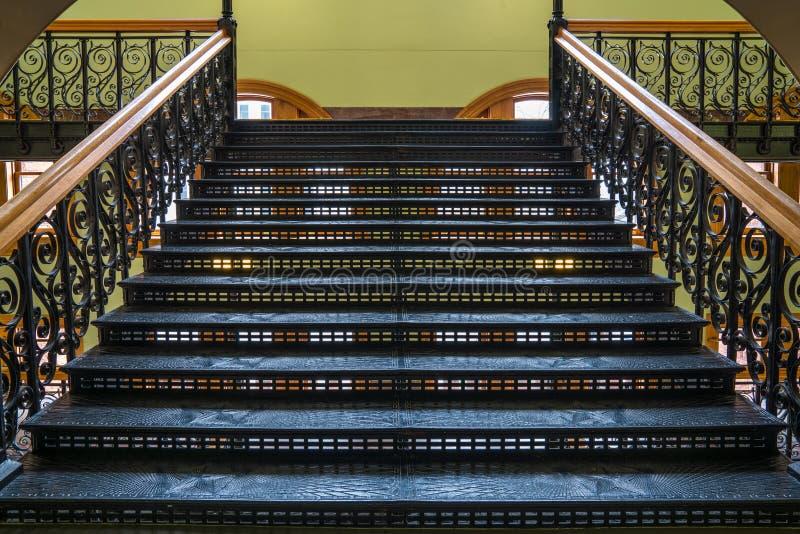 Escadaria com estrelas de Texas foto de stock royalty free