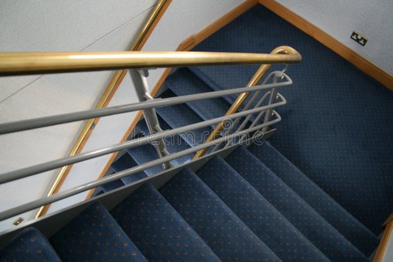 Escadaria comercial fotos de stock