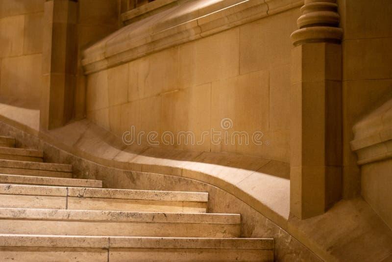 Escadaria da concepção arquitetónica imagem de stock royalty free