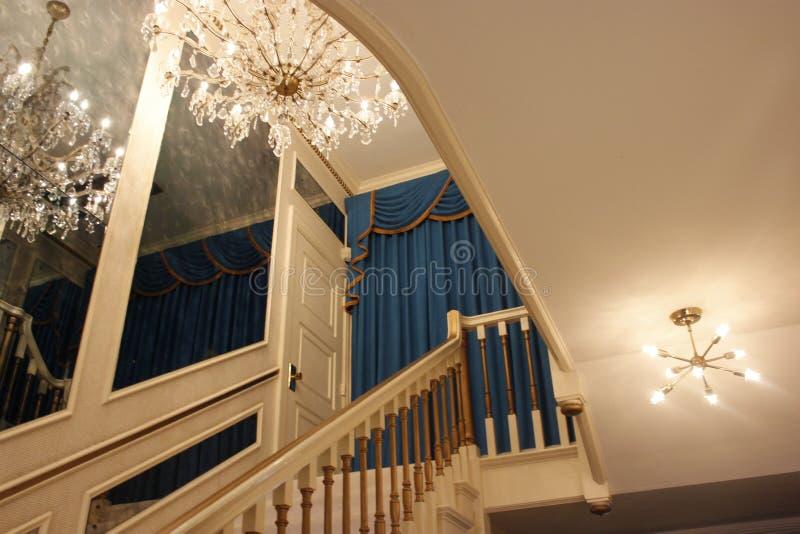 Escadaria da mansão de Graceland imagens de stock royalty free
