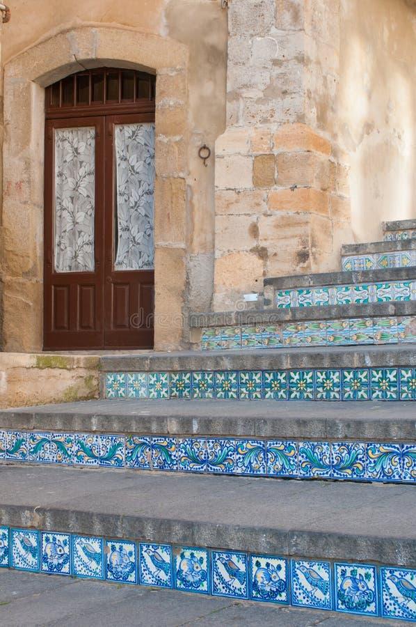 Escadaria de Caltagirone fotos de stock royalty free
