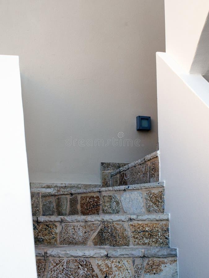 Escadaria de pedra imagem de stock