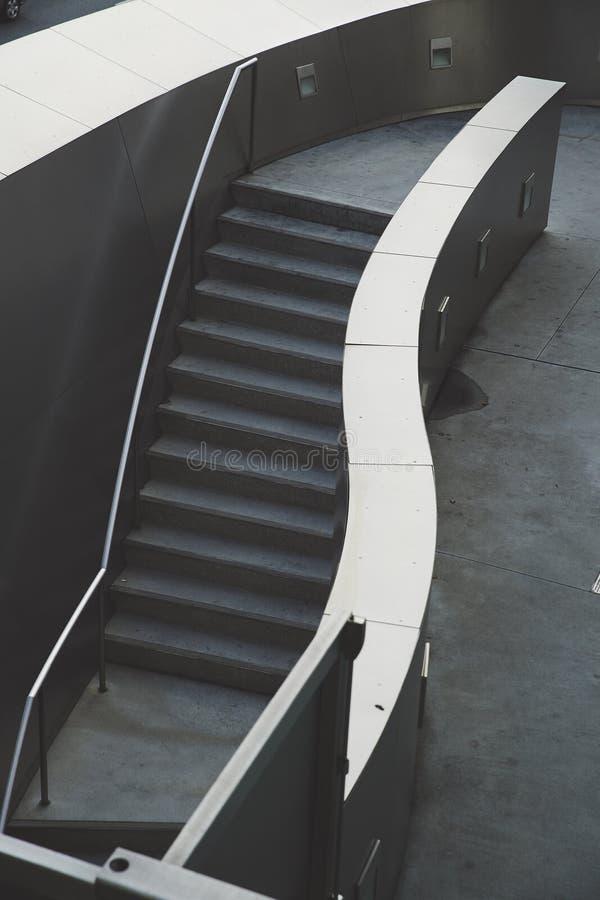Escadaria do salão de Walt Disney Concert fotos de stock royalty free
