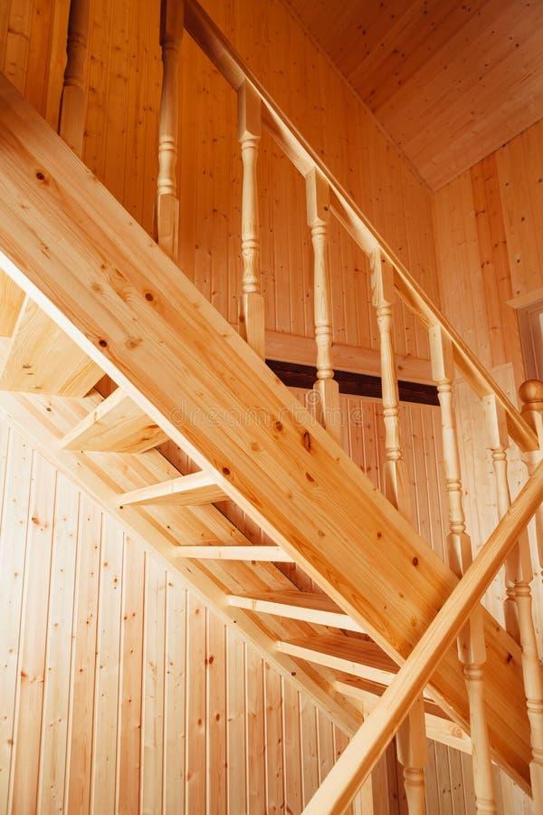 Escadaria e corrimões foto de stock