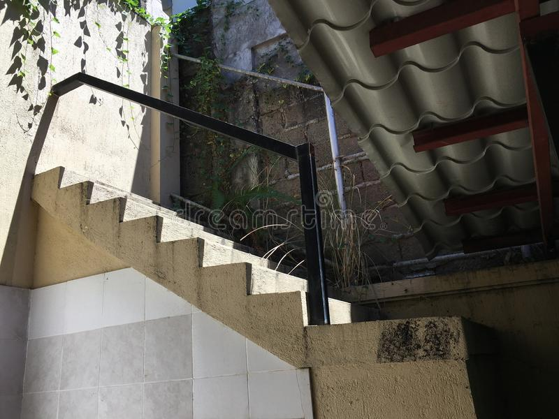 Escadaria a em nenhuma parte imagem de stock royalty free