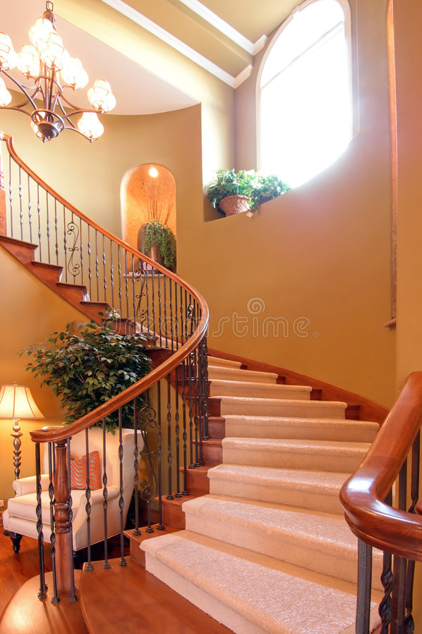 Escadaria grande imagem de stock royalty free