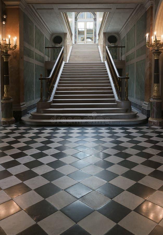 Escadaria grande imagens de stock royalty free