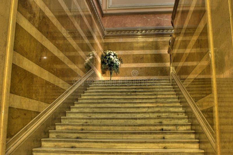 Escadaria grande fotos de stock