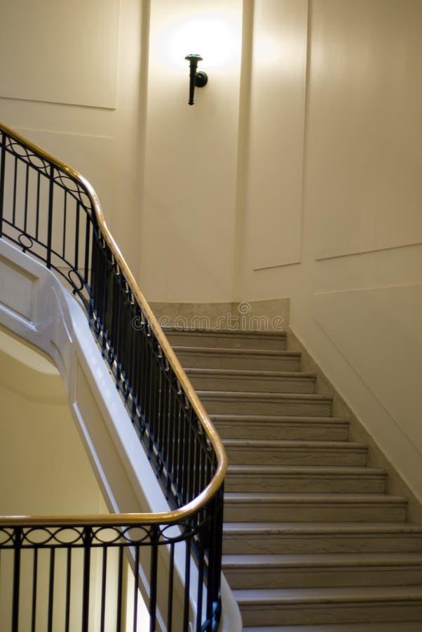 Escadaria interna fotografia de stock royalty free