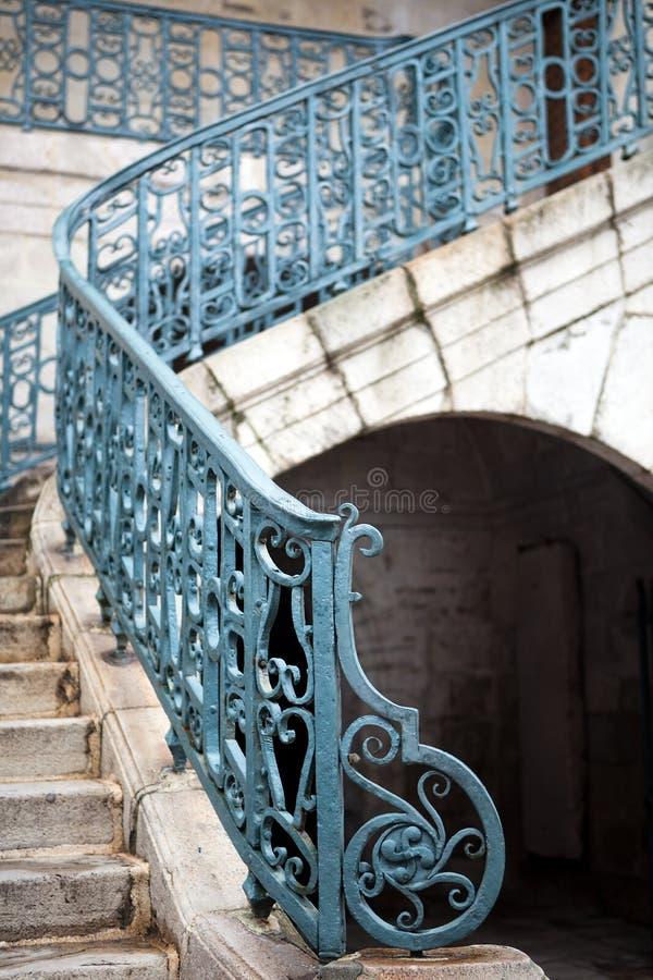 Escadaria medieval fotos de stock