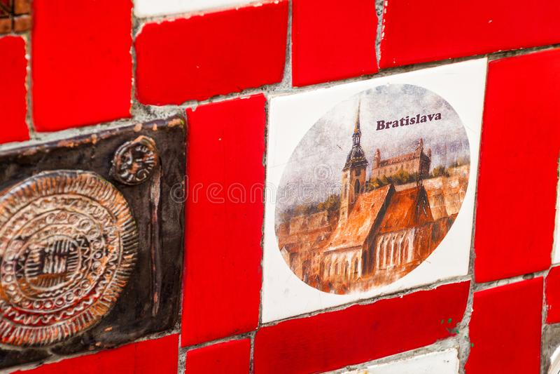 Escadaria Selaron在里约热内卢 免版税库存照片