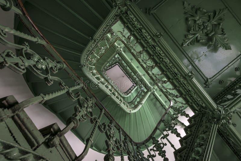 Escadaria velha e do grunge foto de stock royalty free
