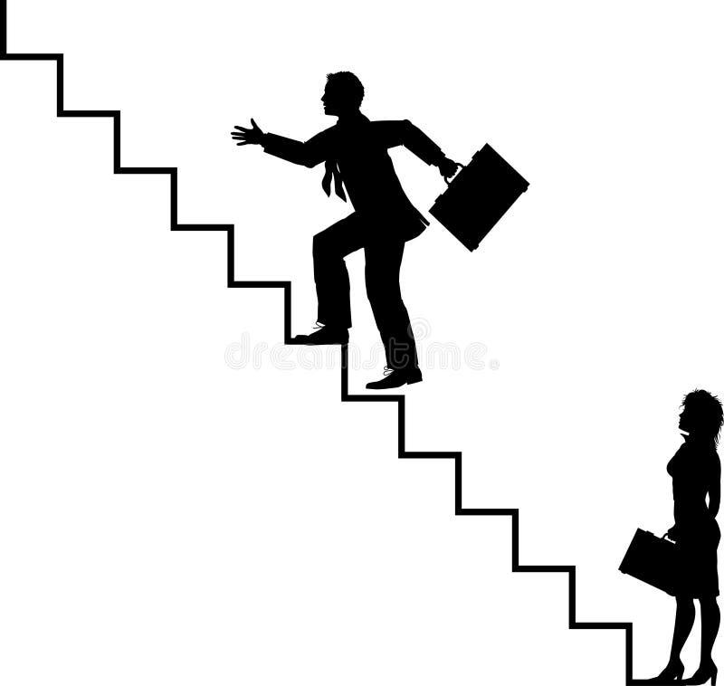 Escadas ilustração stock