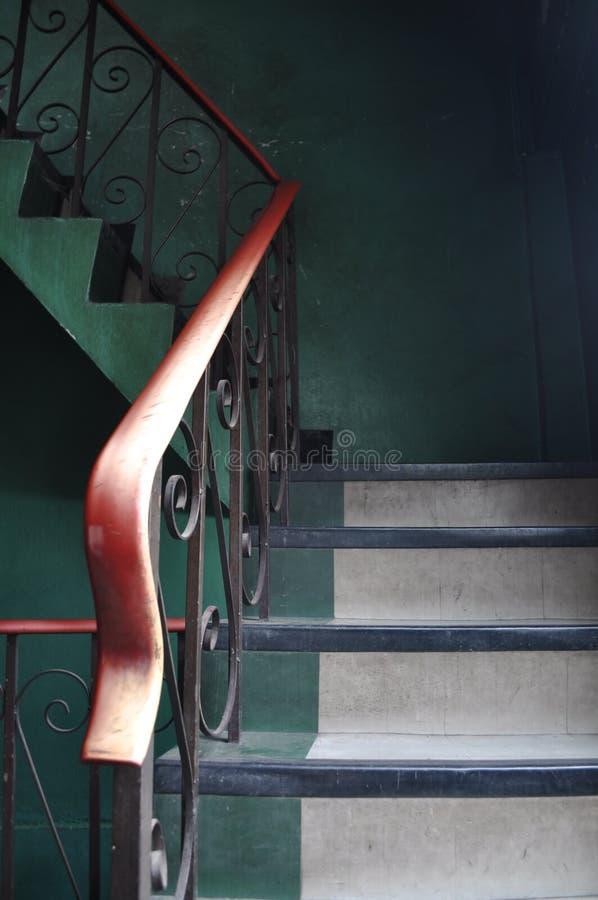 Escadas assustadores imagem de stock royalty free