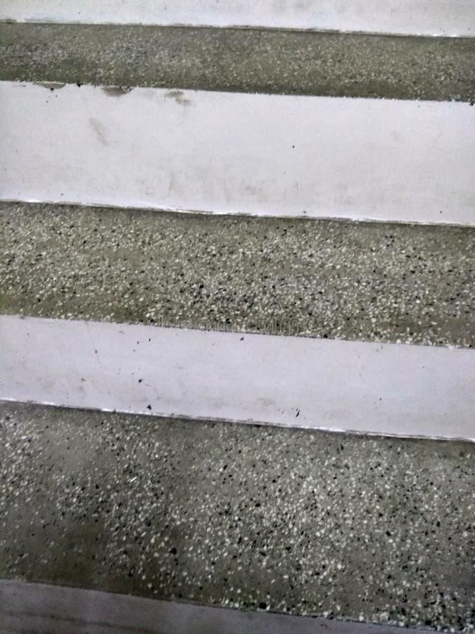 Escadas cimentadas fotos de stock