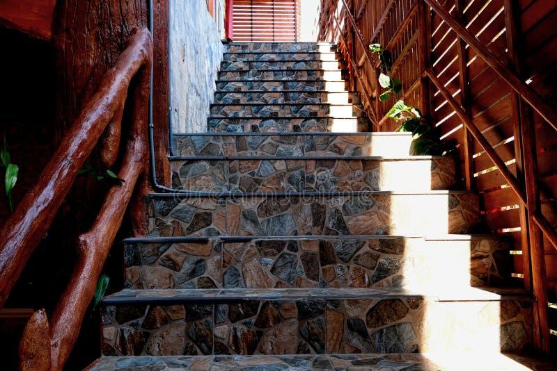 Escadas de m?rmore fotos de stock