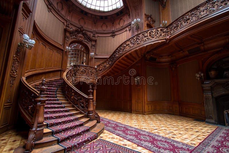 Escadas do casino fotos de stock