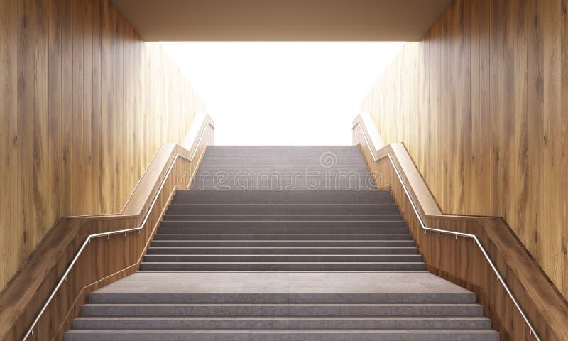 Escadas do conceito do sucesso ilustração do vetor