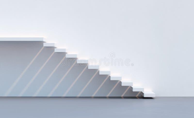 Escadas do estilo do minimalismo imagens de stock imagem for Minimalismo