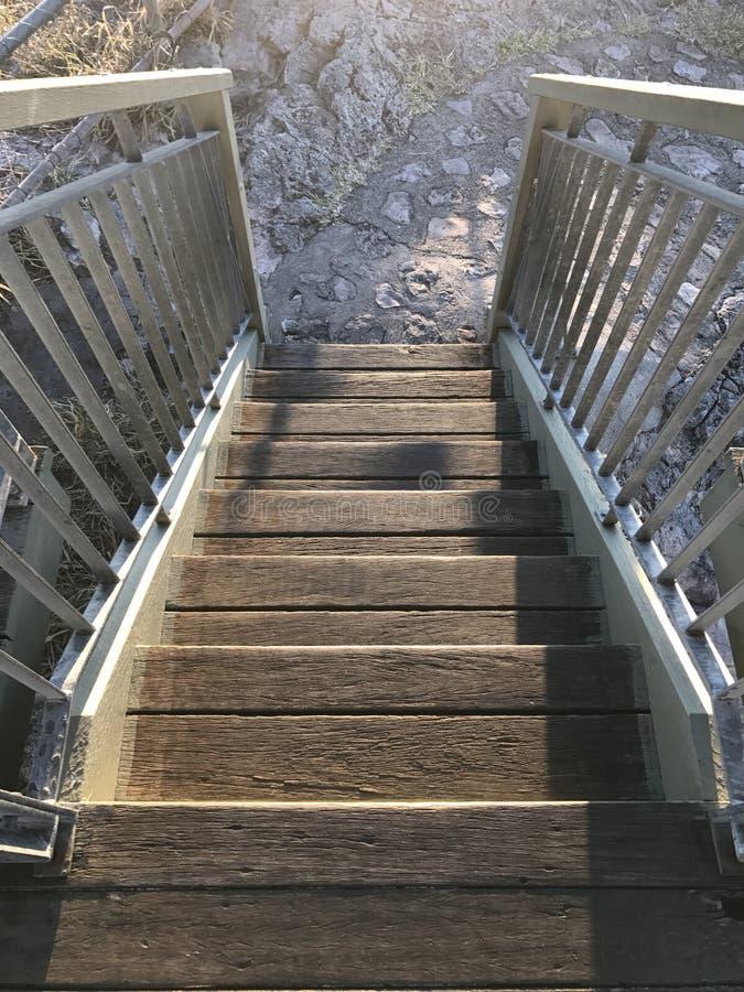 Escadas do timbeerwah da montagem fotografia de stock royalty free