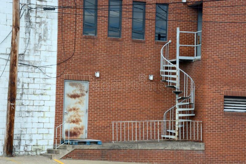 Escadas espirais imagens de stock royalty free