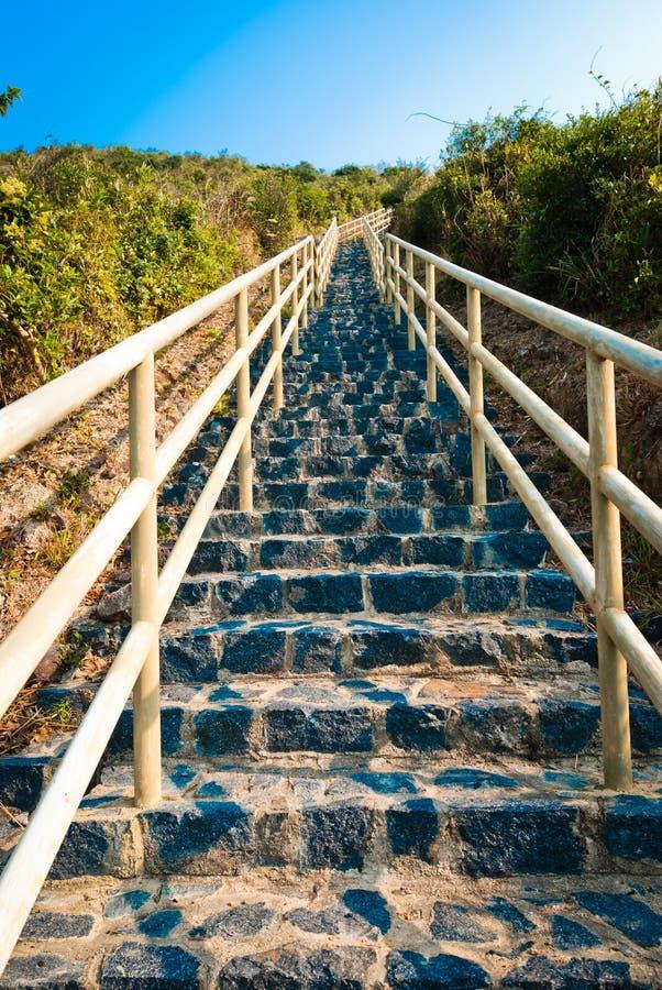 Escadas infinitas fotografia de stock