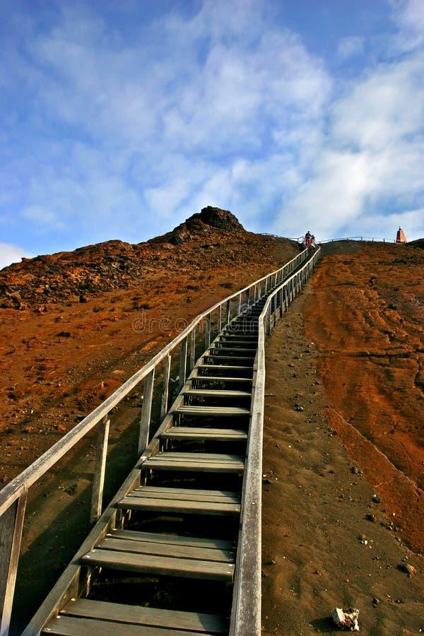 Escadas longas fotografia de stock royalty free