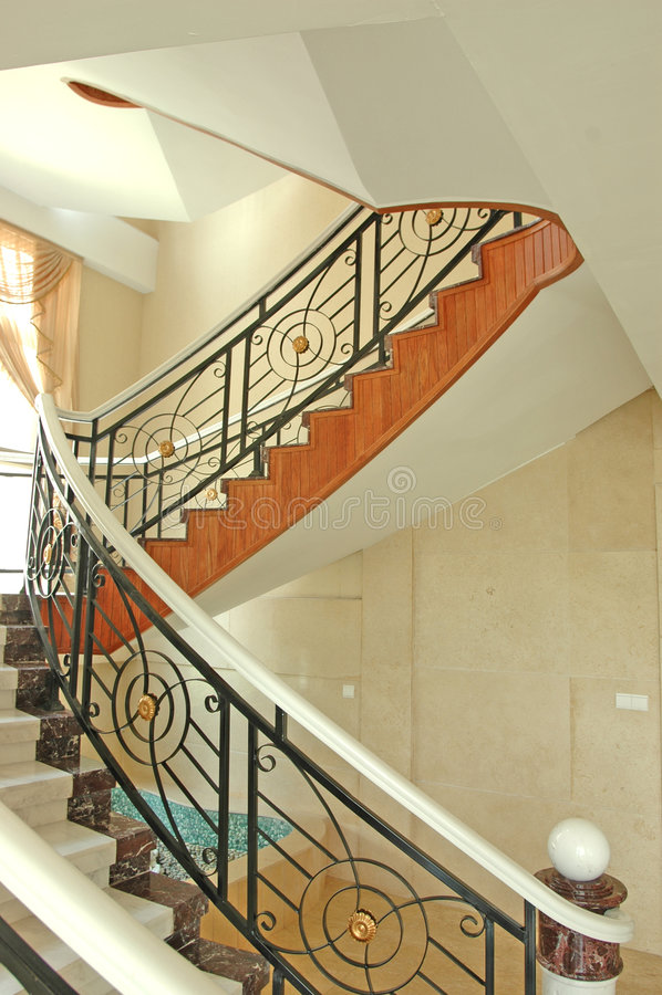 Escadas na casa fotos de stock royalty free
