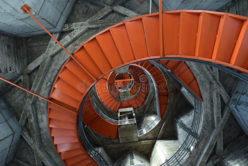 Escadas na catedral do ` de Manizales imagem de stock royalty free