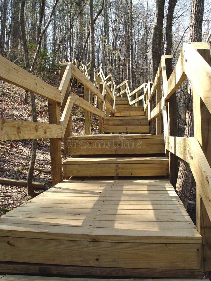 Escadas que vão acima imagens de stock