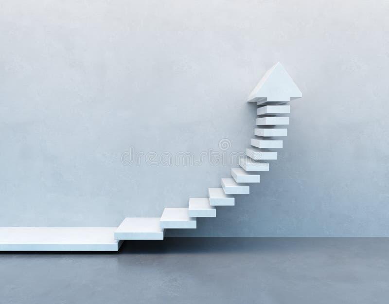 Escadas que vão para cima