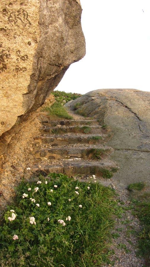 Escadas Sandefjord Noruega imagens de stock royalty free