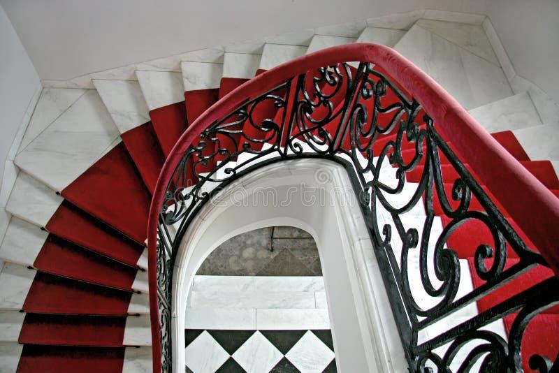 Escadas velhas. imagem de stock royalty free